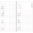 Pink Hearts - Vivella Zsebnaptár