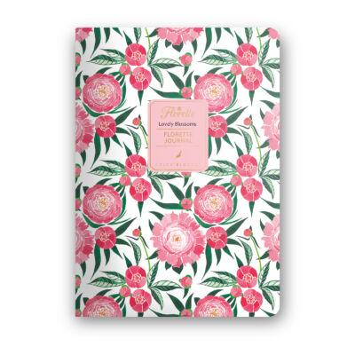 Lovely Blossoms - Florette Journal - pontrácsos