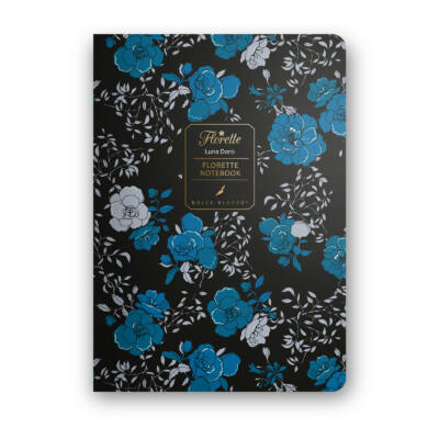 Luna D'oro - Florette Notebook - vonalas