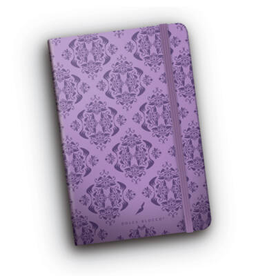 Purple Damask - Magic Minibook
