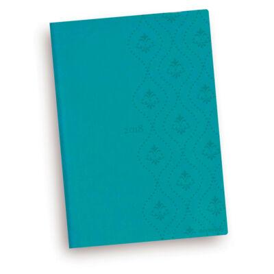 Turquoise Royal - Vivella A5 Napi Tervező