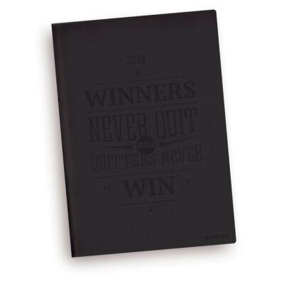 Winners never quit - Vivella A5 Napi Tervező