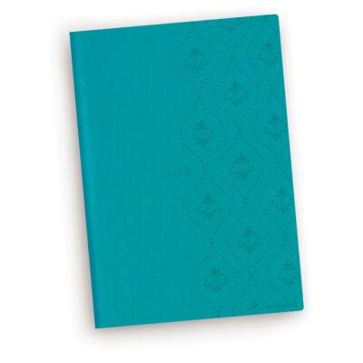Turquoise Royal - Vivella B6 Napi Tervező