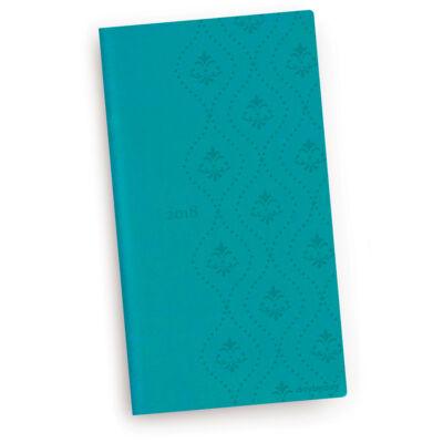 Turquoise Royal - Vivella Zsebnaptár