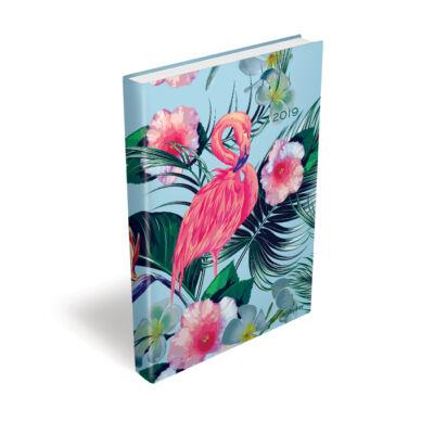 Flamingo Cool - Day by Day - Napi Tervező B6