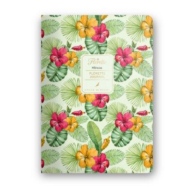 Hibiscus - Florette Journal - pontrácsos