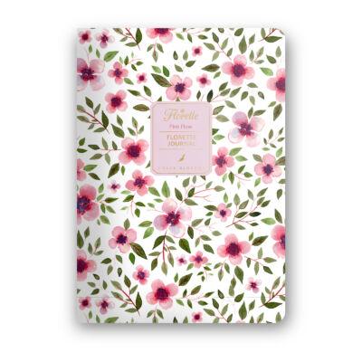 Pink Flow - Florette Journal - pontrácsos