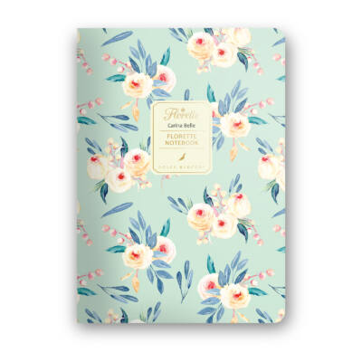 Carina Belle - Florette Notebook - vonalas