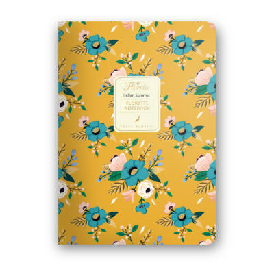 Indian Summer - Florette Notebook - vonalas