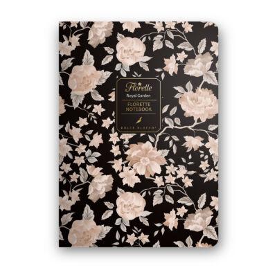 Royal Garden - Florette Notebook - vonalas