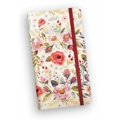Country Flowers - Secret Pocket Planner