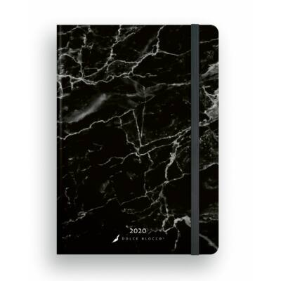 Marble Nero - SECRET Family Planner