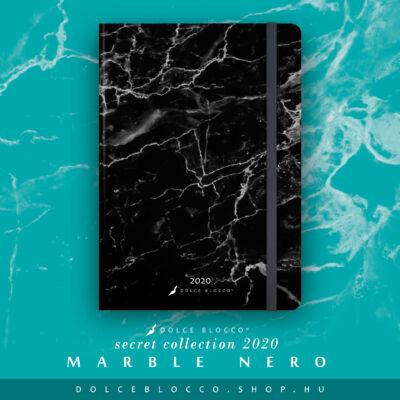 Marble Nero - SECRET Calendar