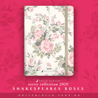 Shakespeare's Roses - SECRET Calendar