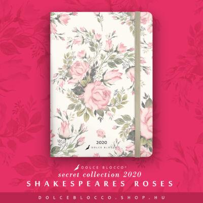 Shakespeare's Roses - SECRET Calendar