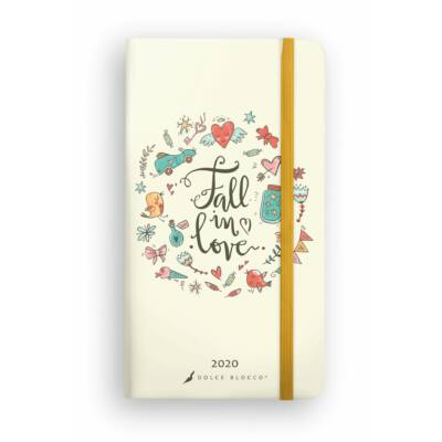 Fall In Love - Secret Pocket Planner
