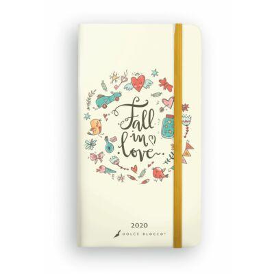 Fall In Love - Secret Pocket Planner