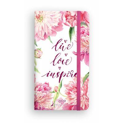 Live Love Inspire - Secret Pocket Planner