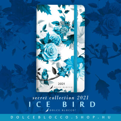 Ice Bird - Secret Pocket Planner