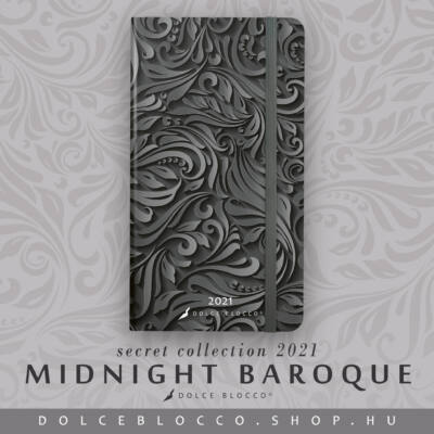 Midnight Baroque - Secret Pocket Planner