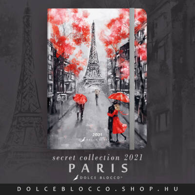Paris - SECRET Calendar
