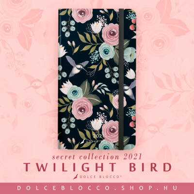 Twilight Birds - Secret Pocket Planner