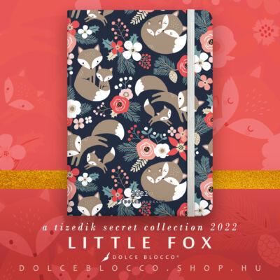 Little Fox - Secret CALENDAR GRANDE 2022