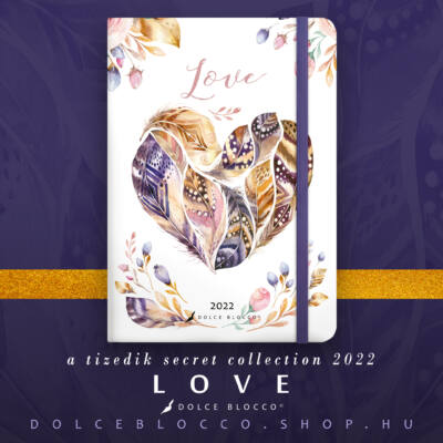 Love - Secret CALENDAR GRANDE 2022