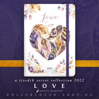 Love - Secret PLANNER 2022