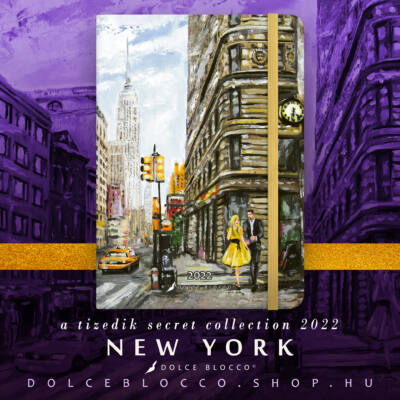 New York - Secret CALENDAR GRANDE 2022