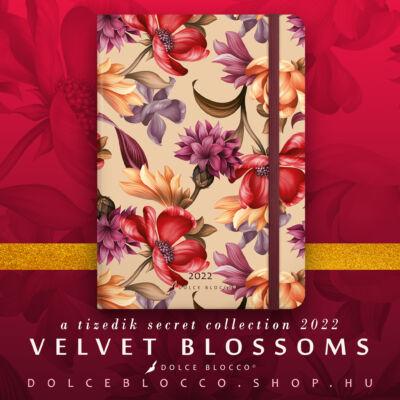 Velvet Blossoms - Secret Journal