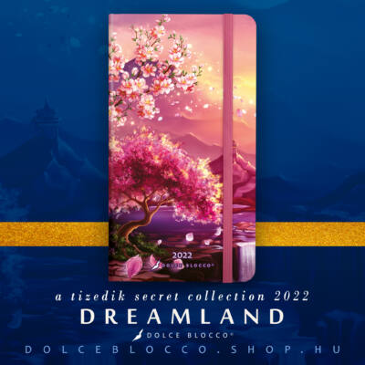 Dreamland - Secret Pocket Planner 2022
