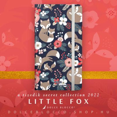 Little Fox - Secret Pocket Planner 2022