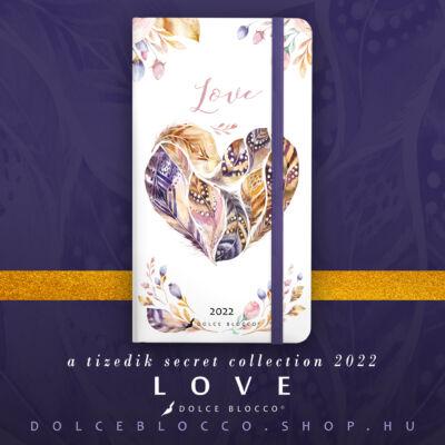 Love - Secret Pocket Planner 2022