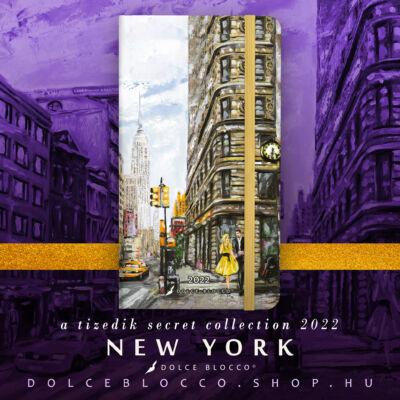 New York - Secret Pocket Planner 2022