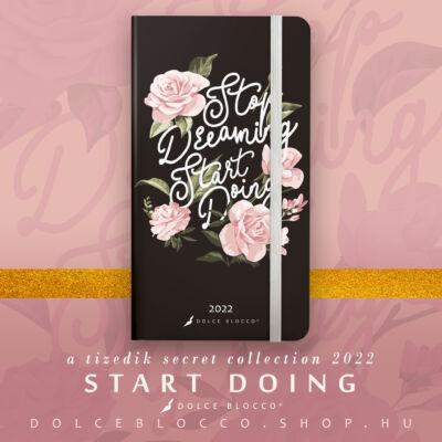 Start Doing - Secret Pocket Planner 2022