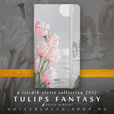 Tulips Fantasy - Secret Pocket Planner 2022