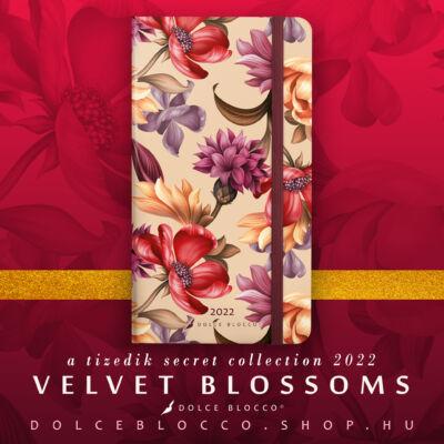 Velvet Blossoms - Secret Pocket Planner 2022